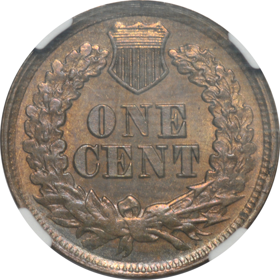 1867 MS-62 BN, and an 1886 Type 1 MS-64 BN, both NGC