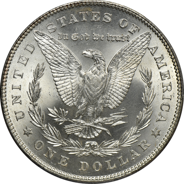 1878 7TF Reverse of 1878 PCGS MS-65+