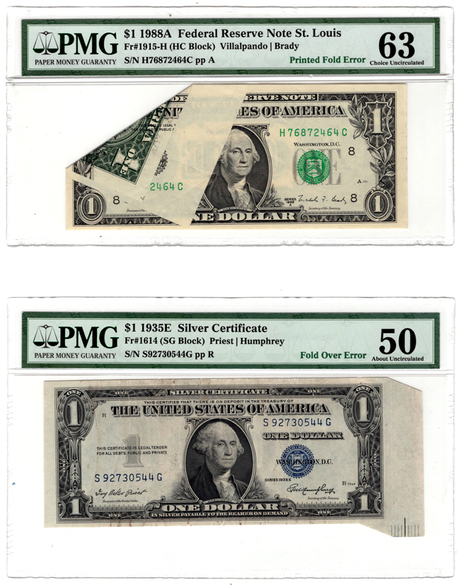 Scotsman Auction Co Lot 55 Error Currency 1935 E 1 Silver