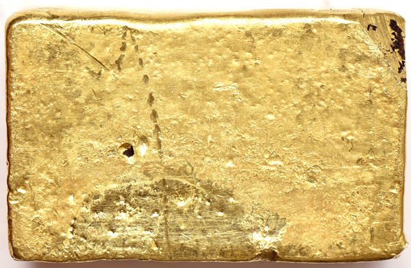 Kellogg & Humbert Assayers 37.08ozs .784 Fine Gold Bar, S.S. Central America Recovery