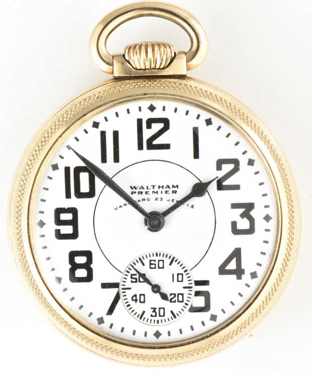 Four Beautiful 16 Size High Grade Men's Pocket Watches