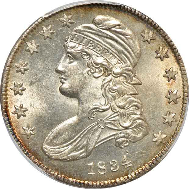 1834 Small Date, Small Letters PCGS MS-64