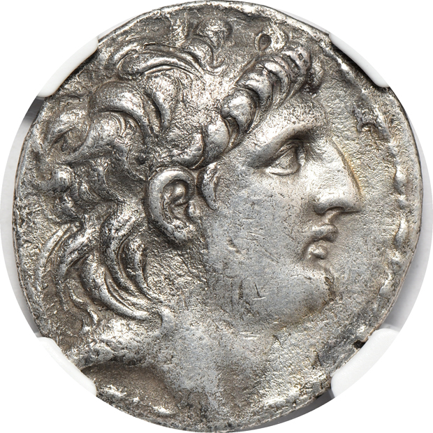 Ancient Greece - Six silver Tetradrachms certified by NGC