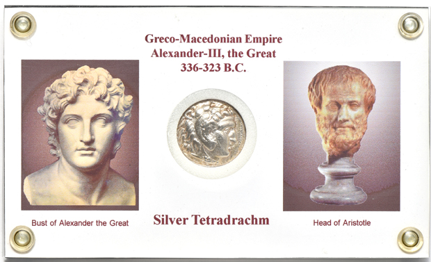 Ancient Greece - 336-323 B.C. Alexander the Great silver tetradrachm, Greco-Macedonian Empire, XF details