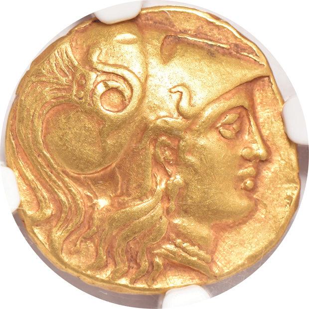 Ancient Greece - Macedon Alexander the Great gold Stater 336-323 BC - NGC Ch XF