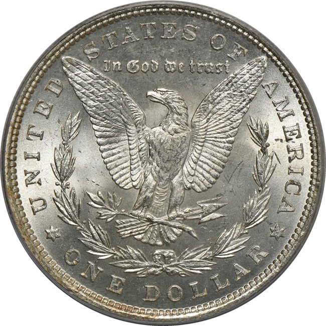 1880 PCGS MS-66 (green label)