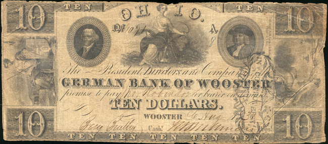 Pair of Obsolete Banknotes